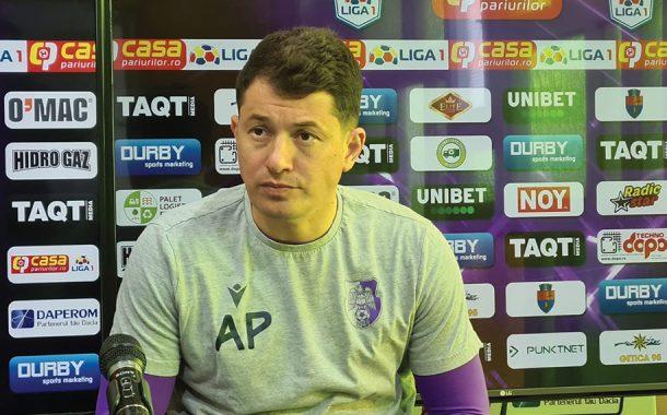 """Andrei Prepeliţă: """"Cu concentrare şi spirit de echipă, vom învinge!"""""""