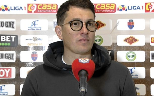 """Andrei Prepeliţă: """"Dacă eram mai atenţi în faţa porţii, câştigam"""""""