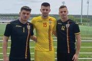 Fabrizio Constantin, la o nouă acţiune a României U 18