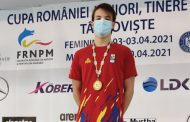 Aur și record national pentru CSM Pitești