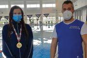Înot: Prima medalie la seniori din istoria CS Dacia