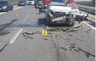 Accident pe A1 cu 3 victime!