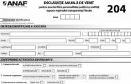 Azi, ultima zi de depunere a Formularului 204 la ANAF