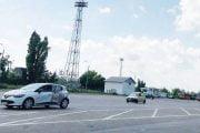 Se amenajează parcarea de pe strada Nicolae Dobrin