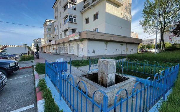 Fântânile publice din Mioveni, curăţate