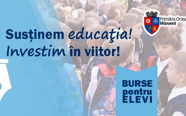 Burse pentru elevii din Mioveni