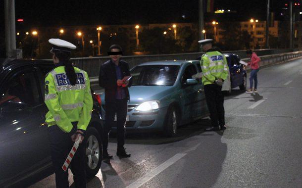 Închis după ce a condus băut şi fără permis!