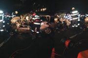 Doi şoferi încarceraţi în urma unui accident