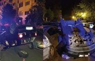 Beat criţă, a distrus 5 maşini!