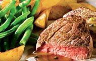 Carne de vită cu sos alb