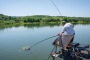 Pescuitul crapului la method feeder