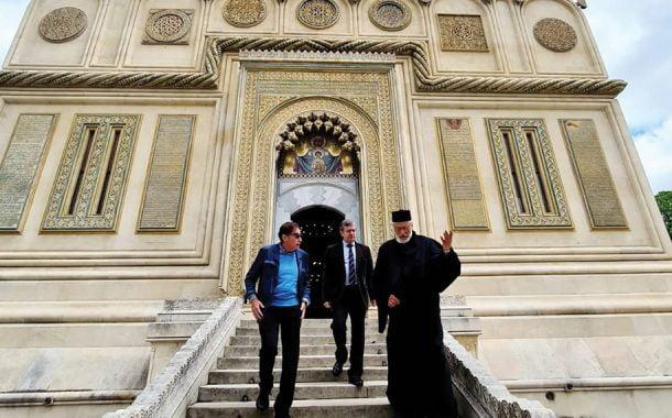Ambasadorul Spaniei, vizită în Catedralele din Argeş