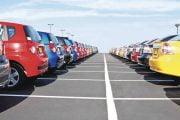 Au scăzut înmatriculările de autoturisme noi
