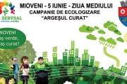 Acțiune de ecologizare de Ziua Mediului