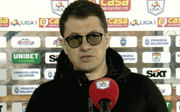 """Andrei Prepeliţă: """"Un meci urât"""""""