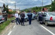 3 victime, într-o tamponare între 4 mașini, la Albești
