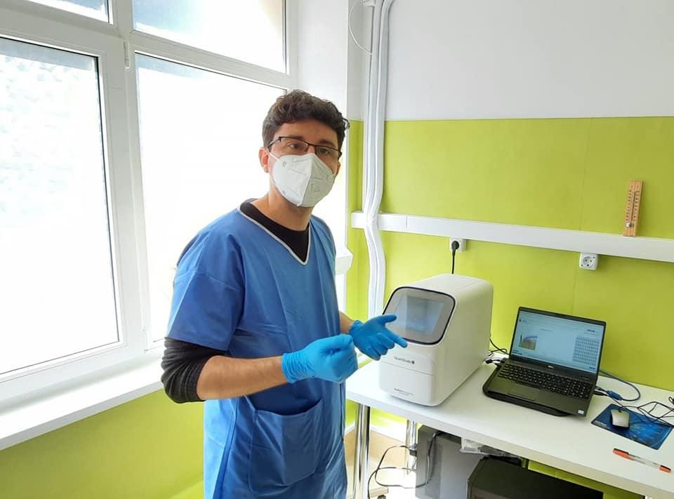 50.000 de teste PCR în laboratorul Spitalului Județean Pitești