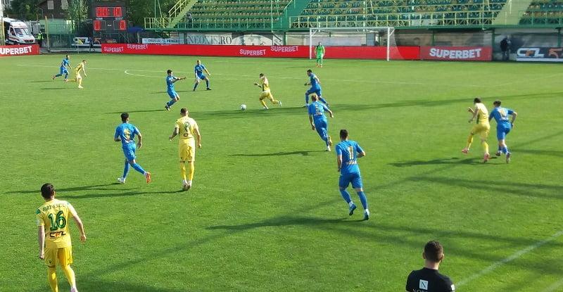 CS Mioveni remizează şi cu Dunărea Călăraşi