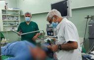 Intervenție laparoscopică la Spitalul Județean