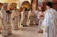 Calinic la hramul Catedralei din Mioveni