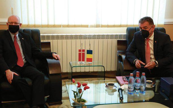 Ambasadorului Danemarcei, în vizită la Primăria Pitești