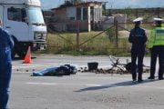 Un biciclist a murit şi doi au fost răniţi grav