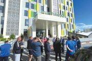 Primarii din Asociația Comunelor în vizită la Spital și Catedrală