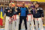 7 medalii pentru karateca alb-violeţi la Campionatul Naţional!