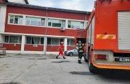 Alarmă de incendiu la un spital din Argeș! Zeci de pacienți, evacuați!