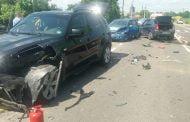 Accident cu 4 maşini la Ţiţeşti!