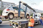 Maşinile parcate neregulamentar vor fi ridicate!
