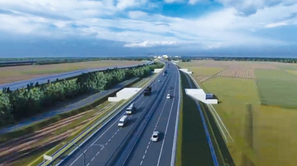 Au fost publicate imagini 3D cu autostrada Pitești – Curtea de Argeș