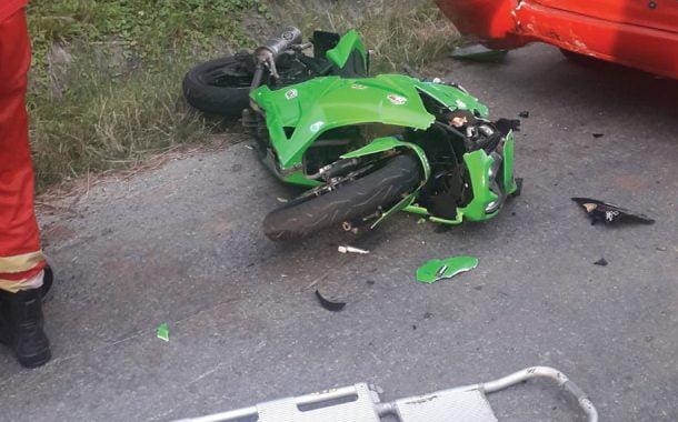 Răniţi de un motociclist!