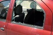A vandalizat maşina preotului!