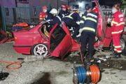 Accident cu un tânăr fără experiență!
