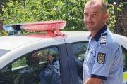 Salvat de un polițist