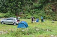 Turiști amendați pentru grătar în pădure