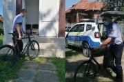 Bicicletă furată din Germania, găsită la Berevoeşti!