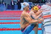 Robert Glinţă, locul 8 în finala probei de 100 m spate