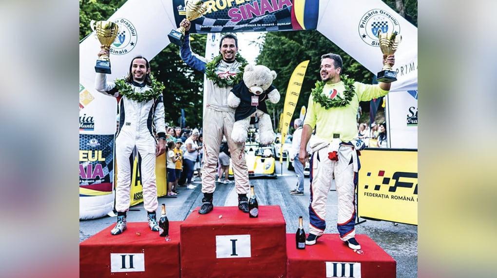 Alex Mirea a câştigat Trofeul Sinaia