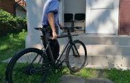 Bicicleta furată din Germania, găsită la Berevoești!