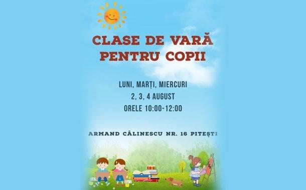 Clasele de vară pentru copii