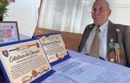 Veteran, aniversat la 100 de ani