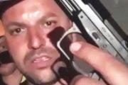 Amenințau cu armele pe Facebook (video)