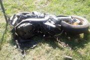Doi motociclişti s-au ciocnit la Topoloveni!