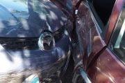 Şoferiţă rănită de un conducător grăbit!
