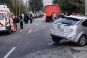Patru răniţi şi trei vehicule lovite!