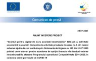 ANUNT INCEPERE PROIECT