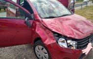 Șoferița de 80 de ani, a lovit o căruță la Mihăești!