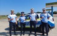 Acțiune inedită a polițiștilor rutieri! Prevenire cu aromă de cafea!